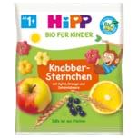 HiPP Bio Knabber-Sternchen mit Apfel, Orange und Johannisbeere 30g, 1-3 Jahre