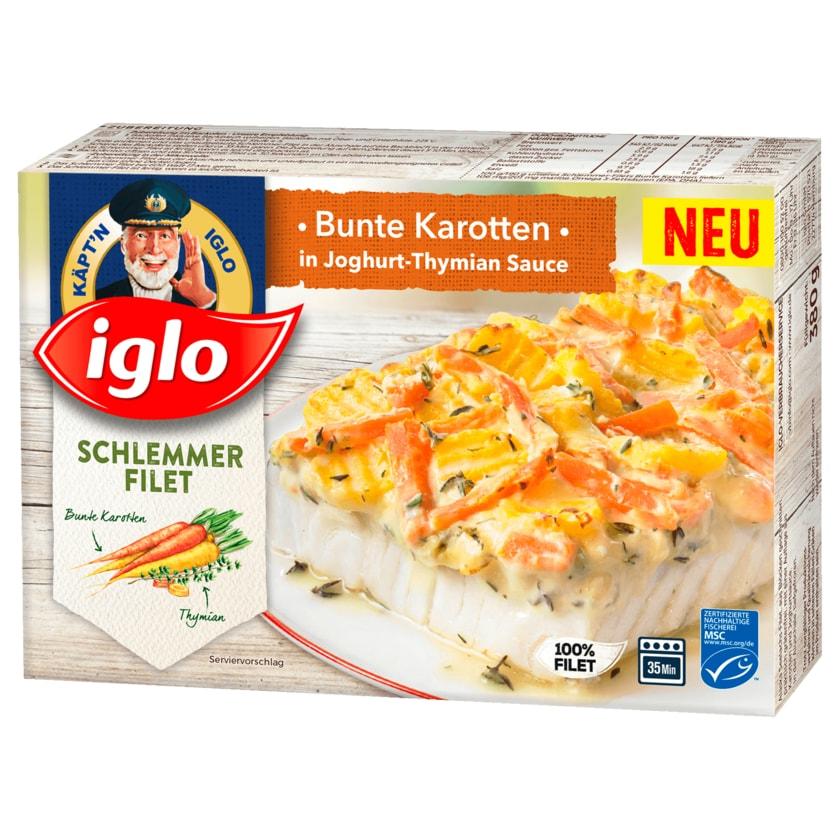 Iglo MSC Schlemmer Filet Bunte Karotten 380g