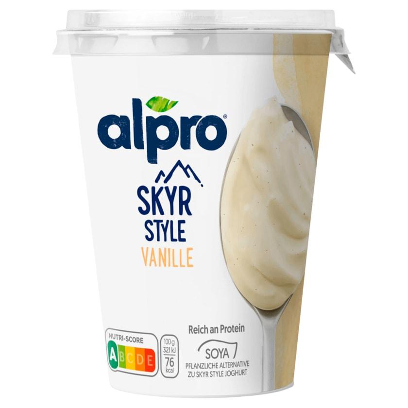 Alpro Skyr Style Vanille Soya 400g