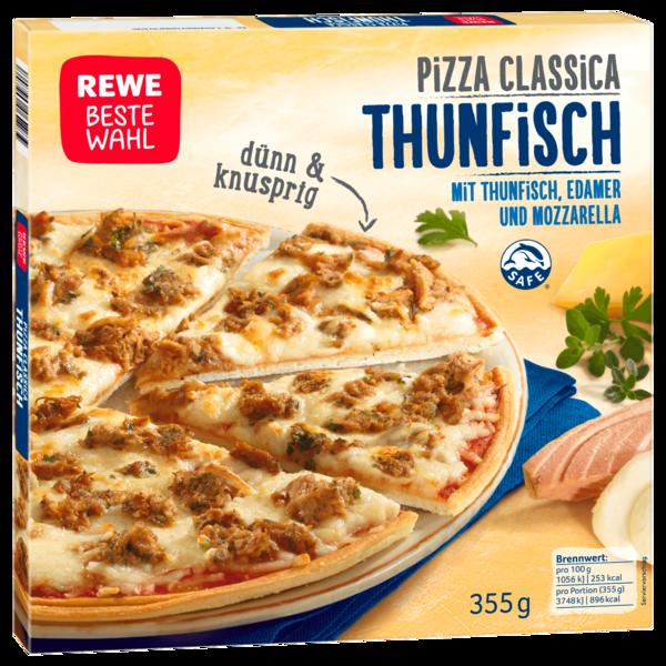 REWE Beste Wahl Pizza Classica Thunfisch 355g