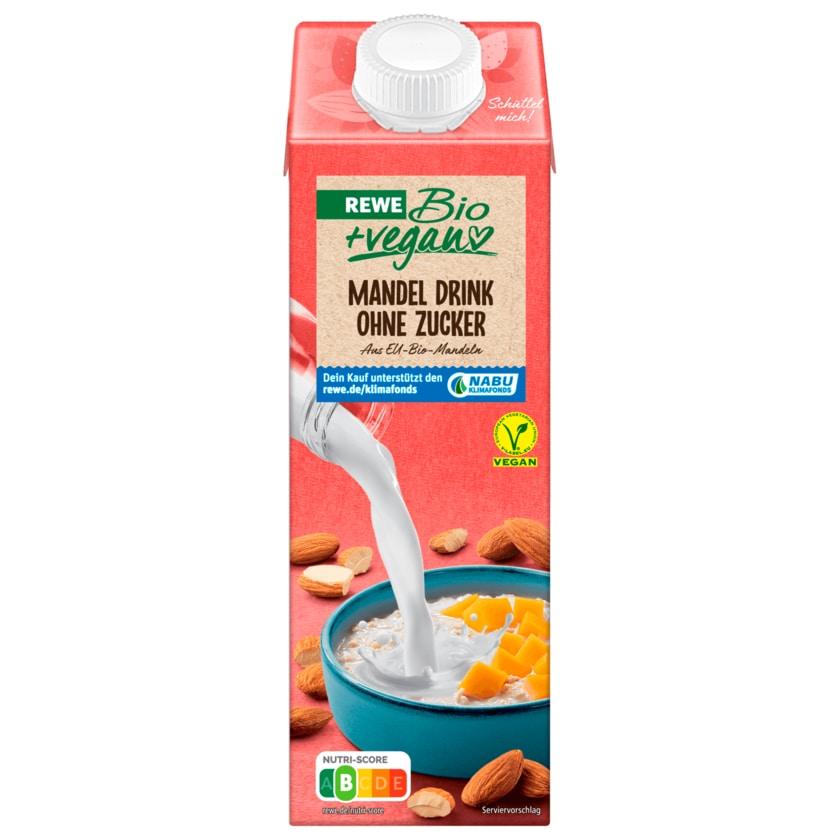 REWE Bio Mandel-Drink Natur ohne Zucker vegan 1l