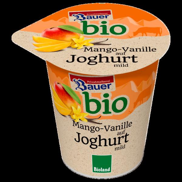 Bauer bio Mango - Vanille Joghurt 150g