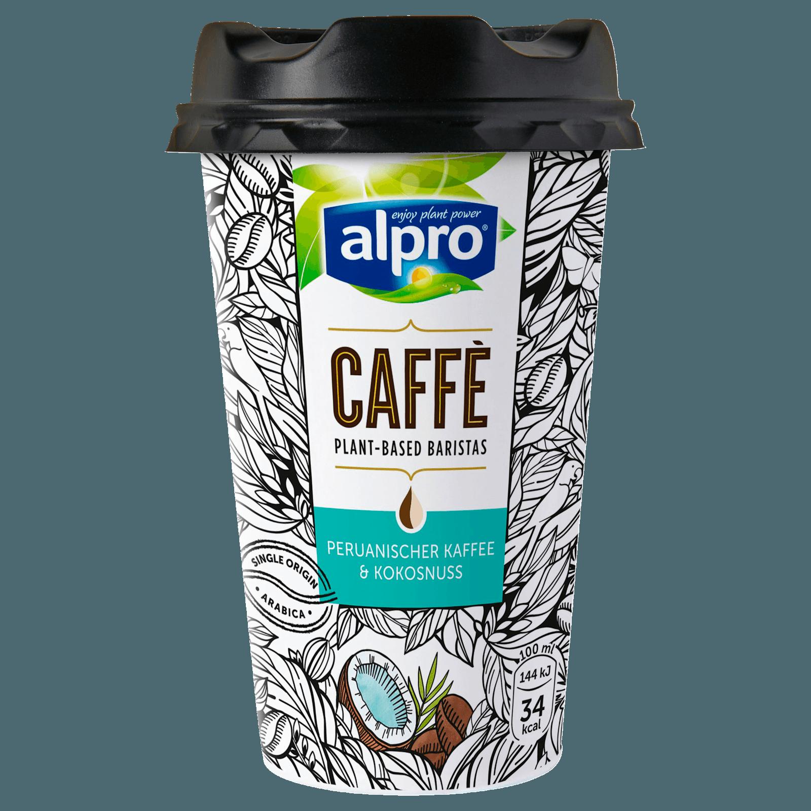 Alpro Caffè Peruanischer Kaffee & Kokosnuss 235ml