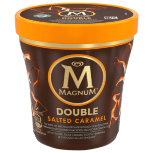 Magnum Becher Double Salted Caramel Eis 440ml