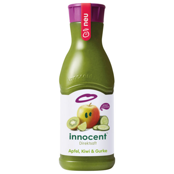 Innocent Apfel, Kiwi & Gurke 900ml