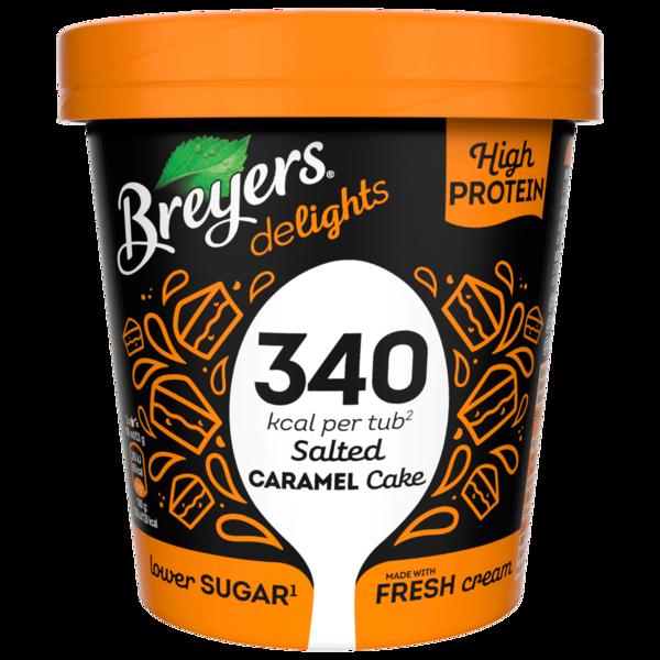Breyers Delights Salted Caramel Cake Eis 500 ml