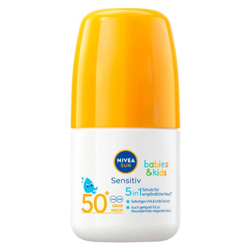 Nivea Sun Kids Sensitiv Sonnen-Roller Extra Wasserfest LSF 50+ 50ml