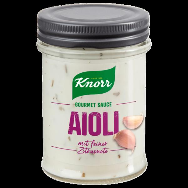 Knorr Gourmet Sauce Aioli 190ml