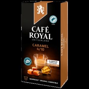 Café Royal Kaffeekapseln Caramel 10 Stück
