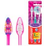 Colgate Zahnbürste Flex Zone Mittel 2+1 Stück