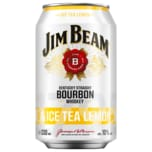 Jim Beam Ice Tea Lemon 0,33l