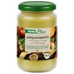 REWE Bio Apfelkompott mit Banane, Orange und Maracuja 360g