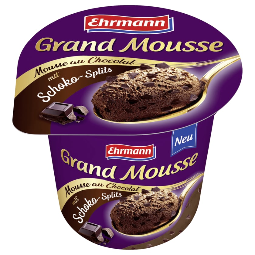 Ehrmann Grand Mousse mit Schoko-Splits 120g