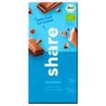 Bio-Schokolade Vollmilch 100g