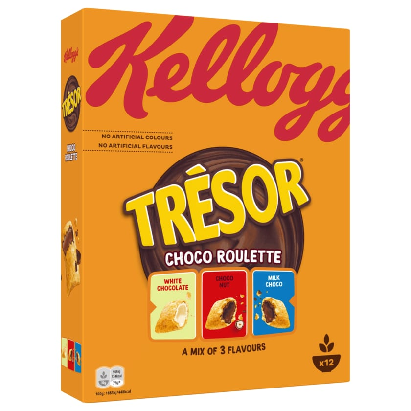 Kellogg's Tresor Choco Roulette Cerealien 375g