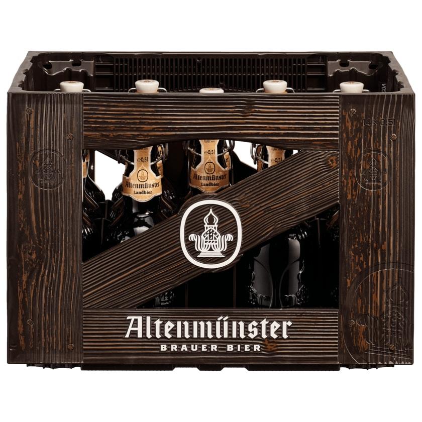 Altenmünster Landbier 14x0,5l