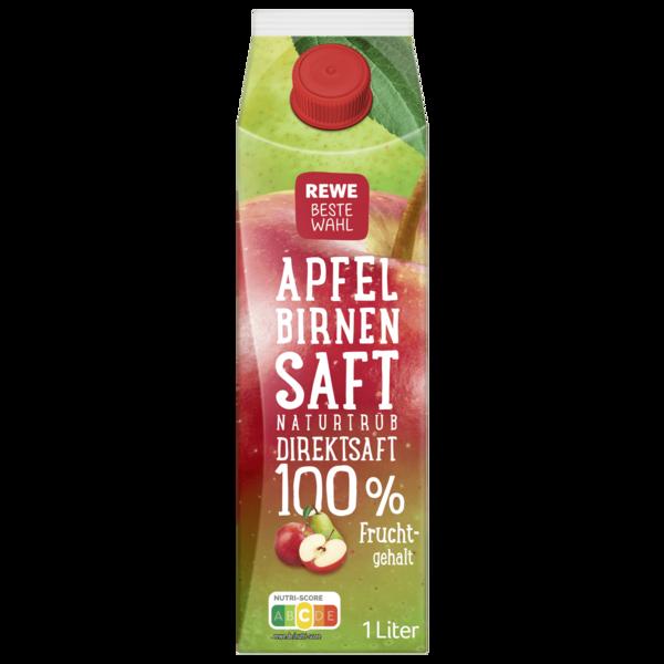 REWE Beste Wahl Apfel Birnen Saft 1l