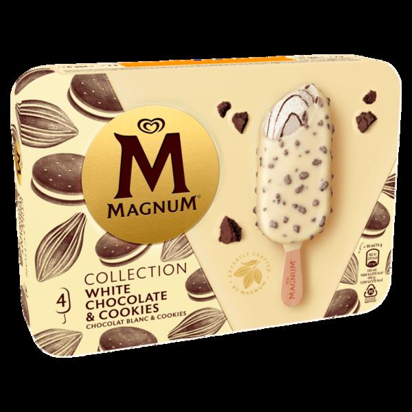 Magnum White Chocolate & Cookies 4x90ml