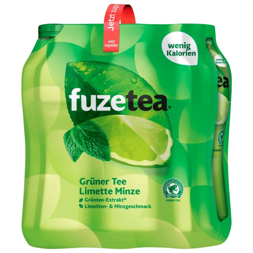 Fuze Tea Grüner Tee Limette Minze 6x1l