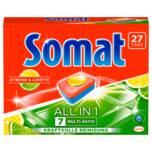 Somat 7 All-in-1 Zitrone & Limette 486g, 27 Tabs