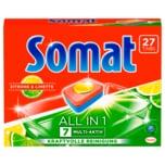Somat 7 All-in-1 Zitrone & Limette 486g, 27 Tabs