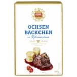 REWE Feine Welt Rinder-Bäckchen in Rotweinsoße 380g