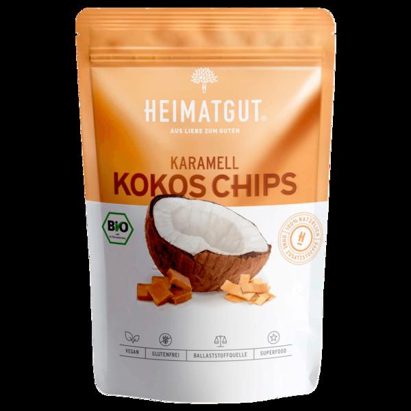 Heimatgut Bio Kokos Chips Karamell 40g