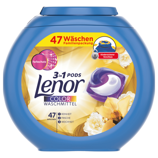 Lenor Pods 3in1 Orchidee 47x26,4g, 47WL