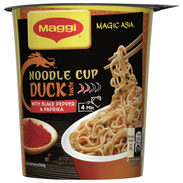Maggi Asia Noodle Cup Duck 63g