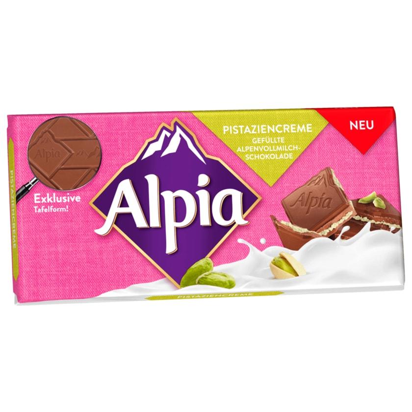 Alpia Schokolade Pistaziencreme 100g