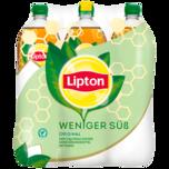 Lipton Ice Tea Original Weniger Süß 6x1,25l