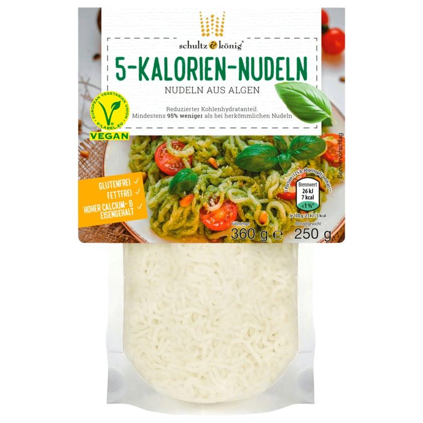 Schultz & König 5 Kalorien Nudeln 250g