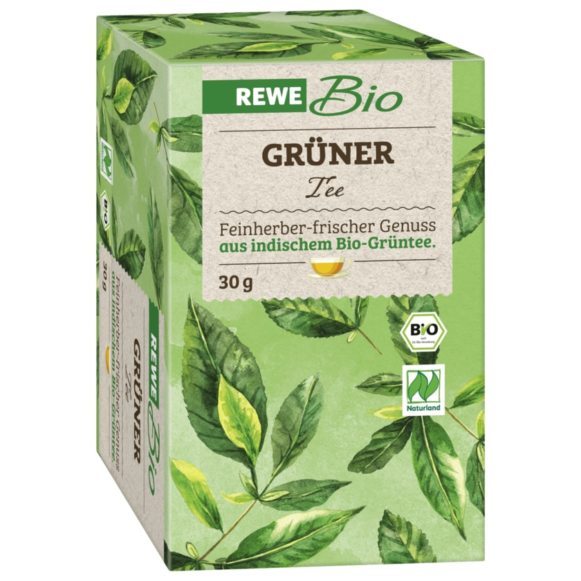 REWE Bio Grüner Tee 30g