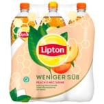 Lipton Ice Tea Peach & Nectarine Weniger Süß 6x1,25l