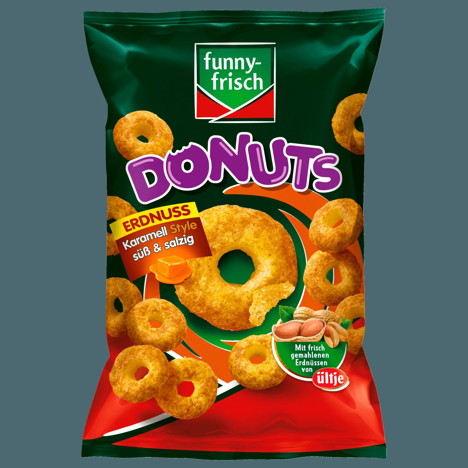 Funny-frisch Donuts Erdnuss 110g