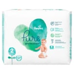 Pampers Pure Protection Windeln Gr.2 Mini 4-8 kg Tragepack 27ST
