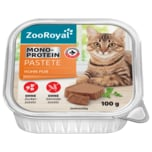ZooRoyal Monoprotein Pastete Huhn pur 100g