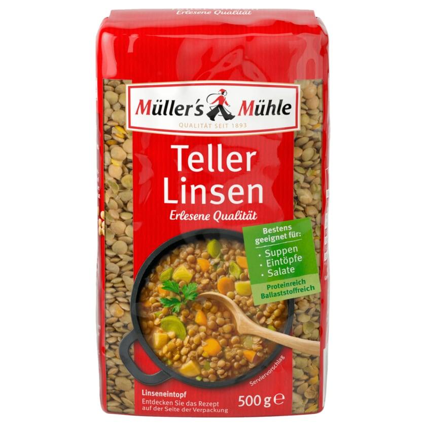Müller's Mühle Teller-Linsen 500g