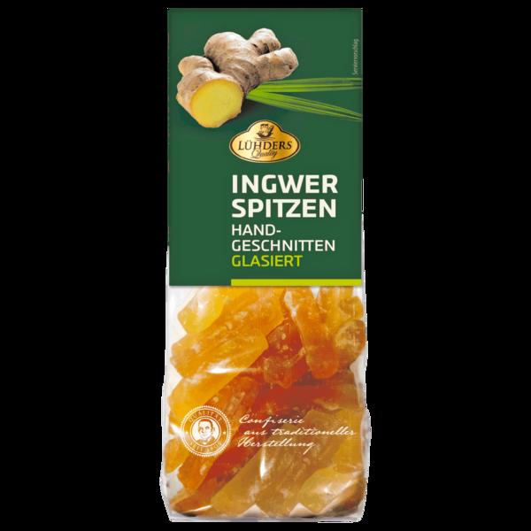 Lühders Ingwer-Spitzen glasiert 150g