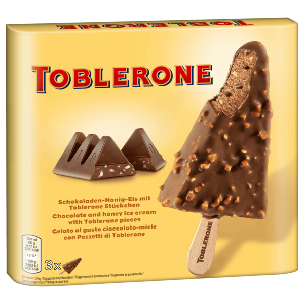 Toblerone Stieleis 3x100ml