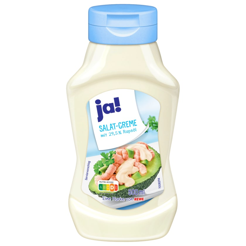 ja! Salatcreme mit 29,5 % Rapsöl 500ml
