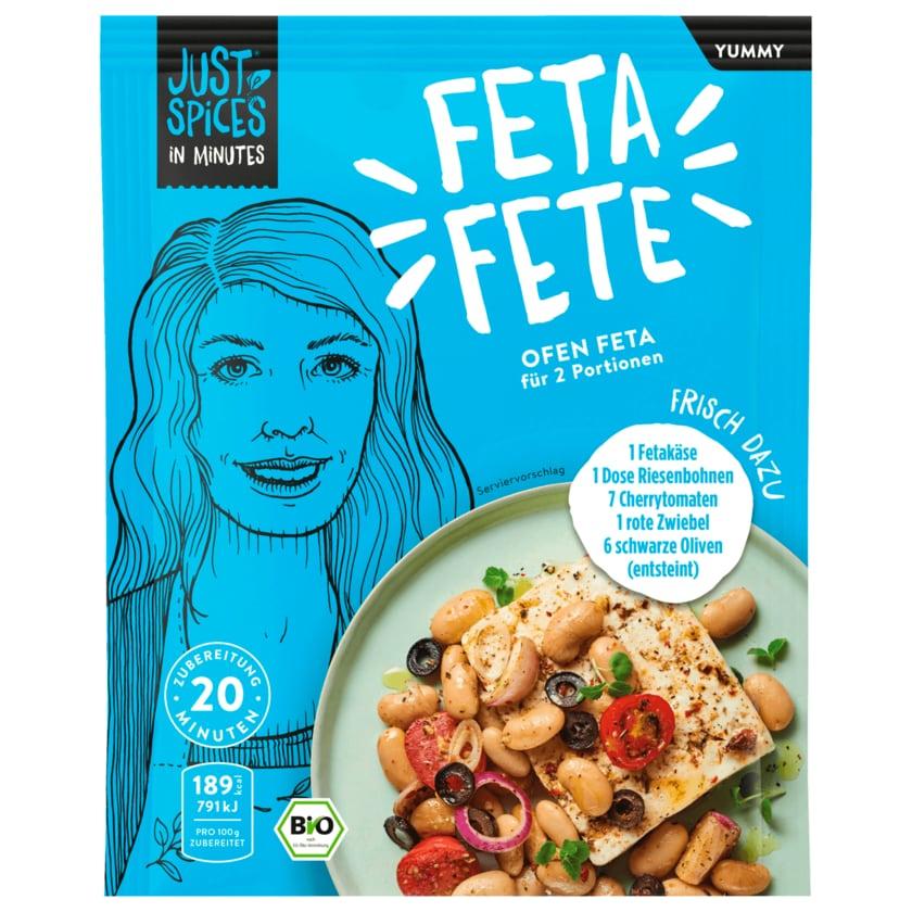 Just Spices Bio In Minutes Ofen Feta 18g