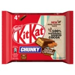Nestlé Kitkat Chunky Salted Caramel Fudge 4x42g