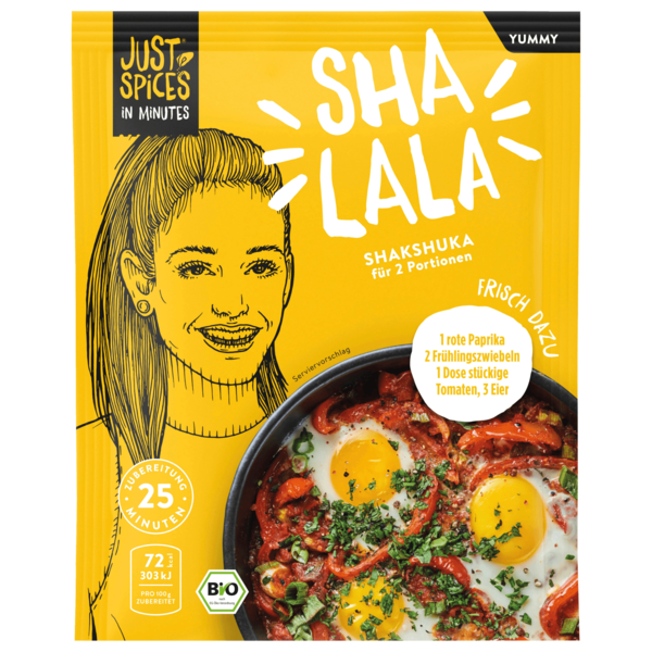 Just Spices In Minutes Shalala Yummy Bio Shakshuka 27g