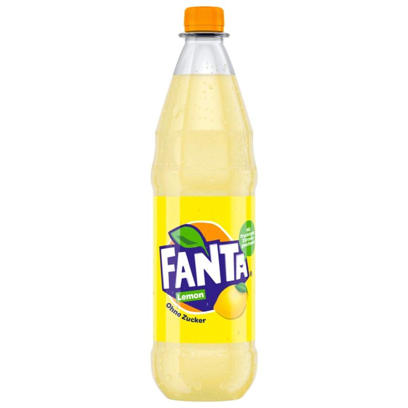 Fanta Lemon Ohne Zucker 1L