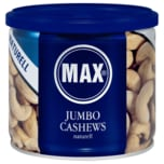Max Jumbo Cashews Naturell 150g