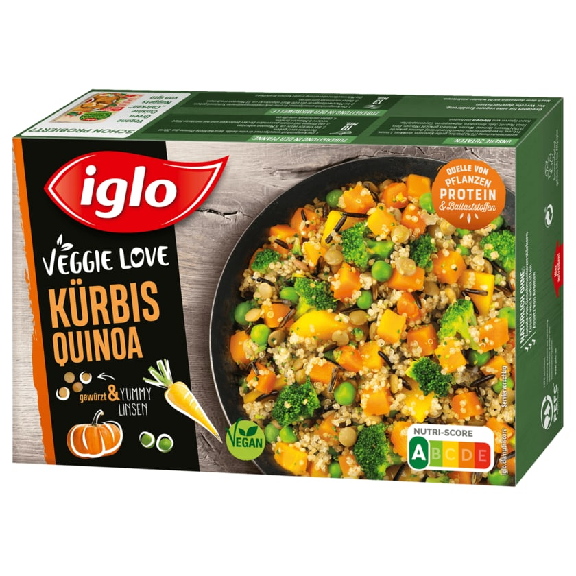 Iglo Kürbis Quinoa 400g