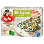 Iglo Schlemmerfilet Blattspinat Käse 380g