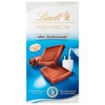 Lindt Vollmilchschokolade ohne Zuckerzusatz glutenfrei 100g