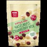REWE Beste Wahl Haselnuss Cranberry Mix 150g